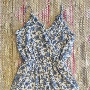One Clothing floral print romper Small